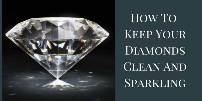 Diamonds Clean And Sparkling